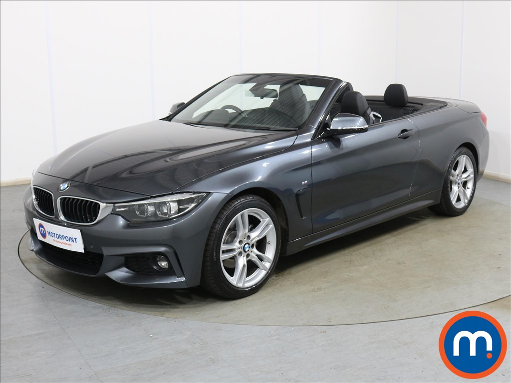 BMW 4 Series 420i M Sport 2dr Auto [Professional Media] - Stock Number 1136095 Passenger side front corner
