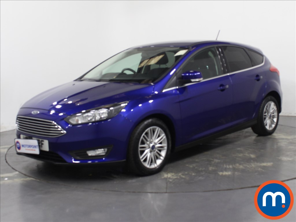 Ford Focus Zetec Edition - Stock Number 1133045 Passenger side front corner