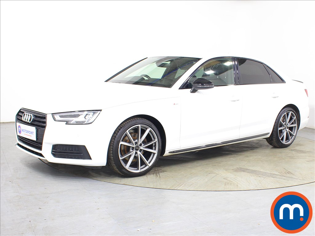 Audi A4 Black Edition - Stock Number 1131523 Passenger side front corner