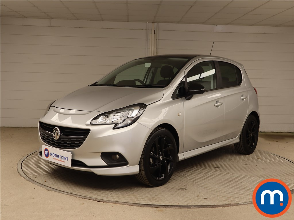 Vauxhall Corsa 1.4 SRi Vx-line Nav Black 5dr - Stock Number 1136345 Passenger side front corner