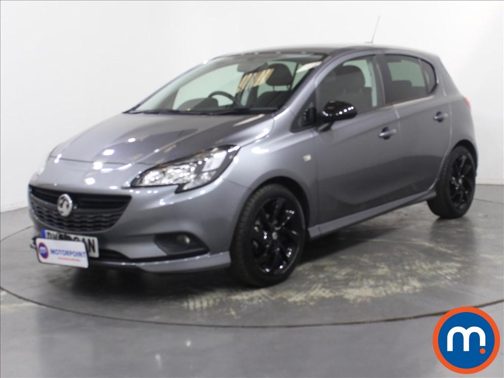 Vauxhall Corsa SRi Vx-line Nav Black - Stock Number 1132265 Passenger side front corner