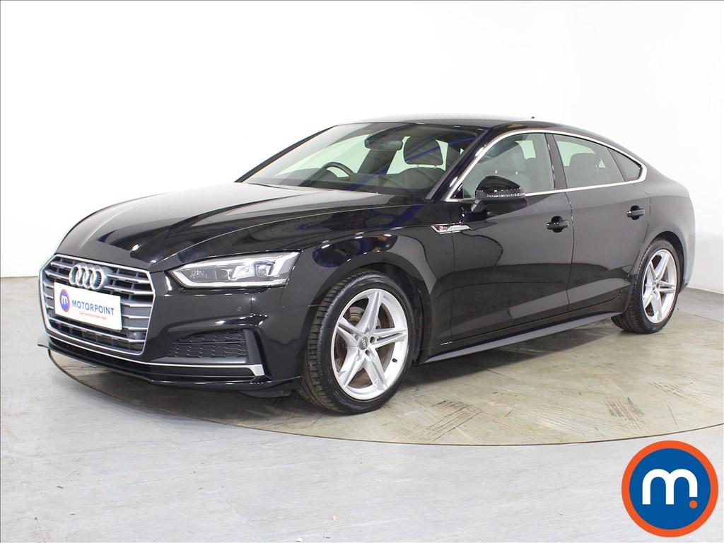 Audi A5 S Line - Stock Number 1134328 Passenger side front corner
