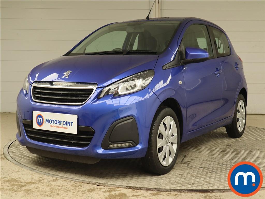 Peugeot 108 1.0 72 Active 5dr - Stock Number 1122856 Passenger side front corner