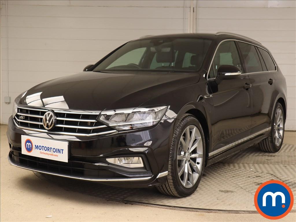 Volkswagen Passat R Line - Stock Number 1138384 Passenger side front corner