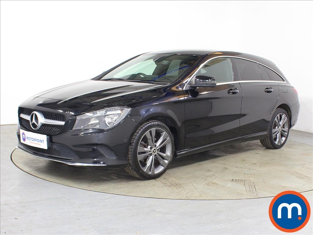 Mercedes-Benz CLA Sport - Stock Number 1131919 Passenger side front corner