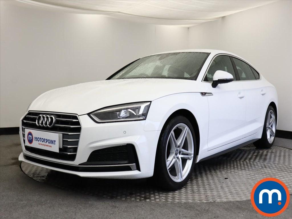 Audi A5 S Line - Stock Number 1138525 Passenger side front corner