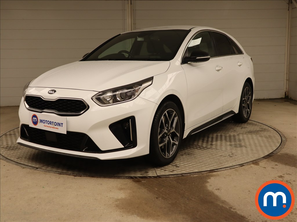 KIA Pro Ceed GT-Line - Stock Number 1120493 Passenger side front corner