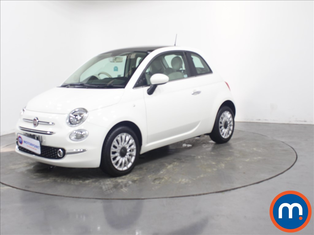 Fiat 500 Lounge - Stock Number 1135307 Passenger side front corner