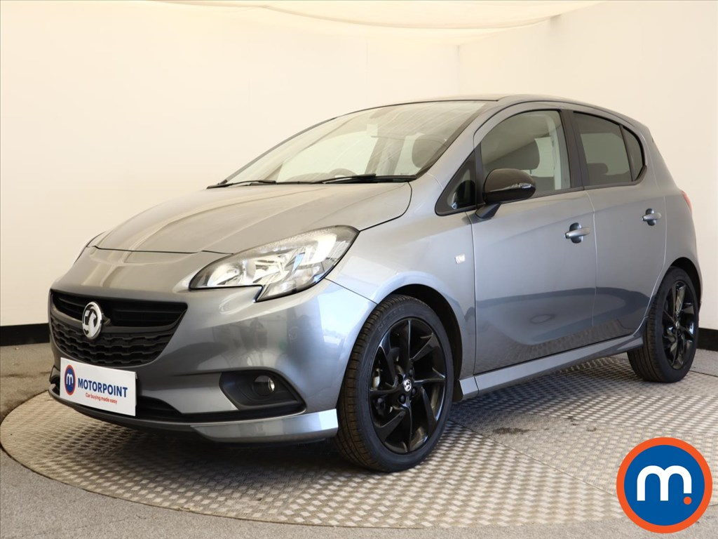 Vauxhall Corsa 1.4 SRi Vx-line Nav Black 5dr - Stock Number 1138223 Passenger side front corner