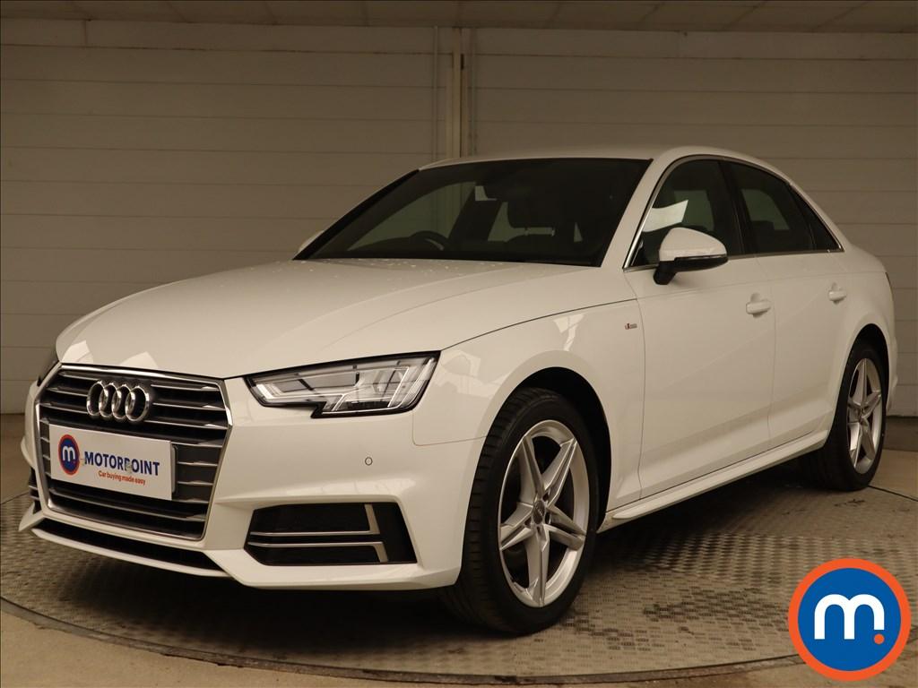 Audi A4 S Line - Stock Number 1135692 Passenger side front corner