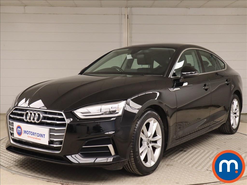 Audi A5 Sport - Stock Number 1131530 Passenger side front corner
