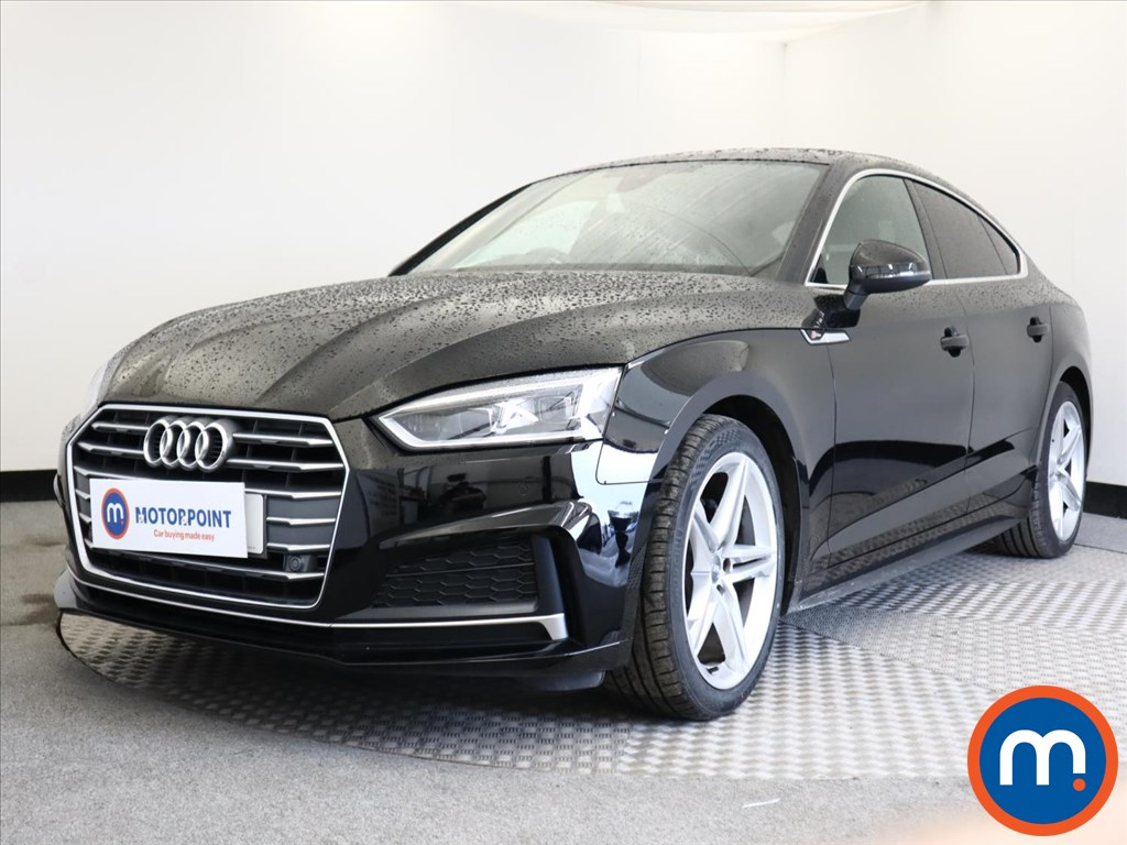 Audi A5 1.4 TFSI S Line 5dr S Tronic - Stock Number 1138027 Passenger side front corner