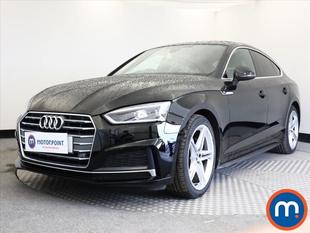 Audi A5 S Line - Stock Number 1138027 Passenger side front corner