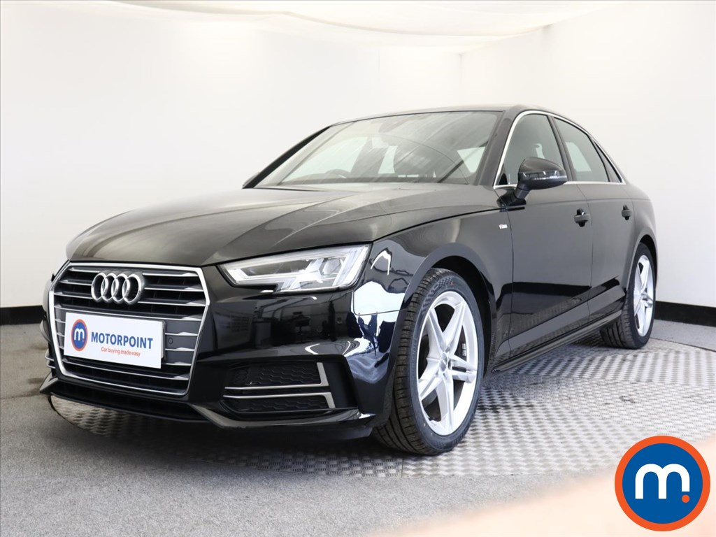 Audi A4 1.4T FSI S Line 4dr S Tronic [Leather-Alc] - Stock Number 1138562 Passenger side front corner