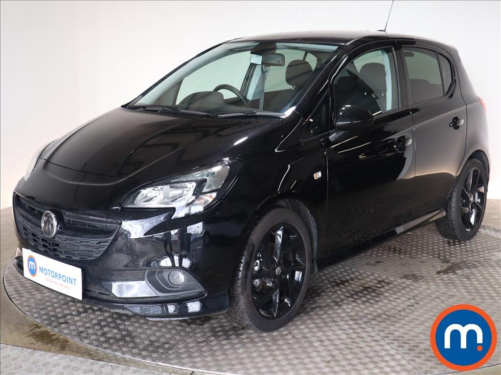 Vauxhall Corsa SRi Vx-line Nav Black - Stock Number 1140175 Passenger side front corner