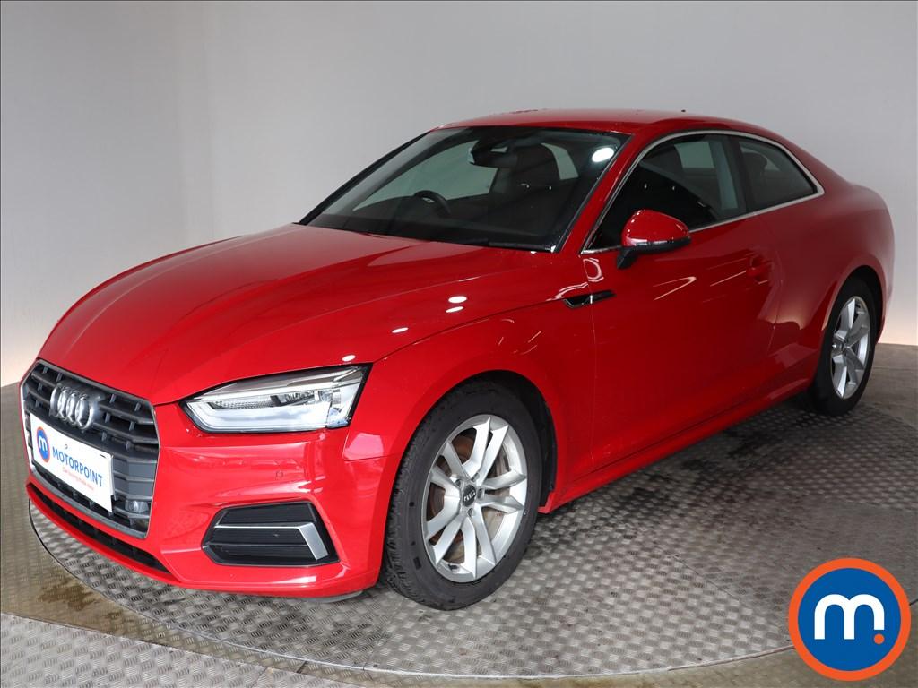 Audi A5 Sport - Stock Number 1140205 Passenger side front corner
