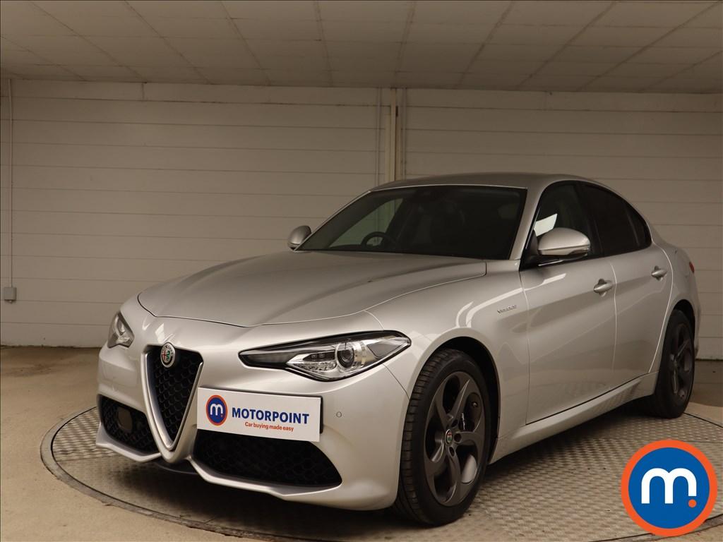Alfa Romeo Giulia Veloce - Stock Number 1136268 Passenger side front corner