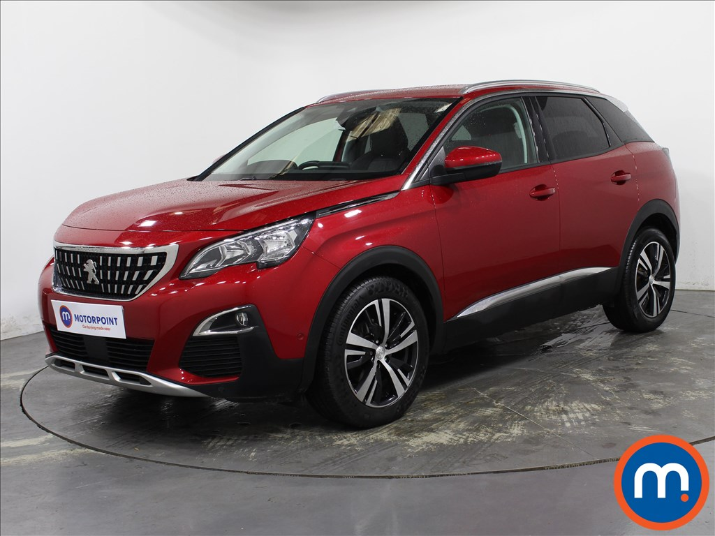 Peugeot 3008 Allure - Stock Number 1140227 Passenger side front corner