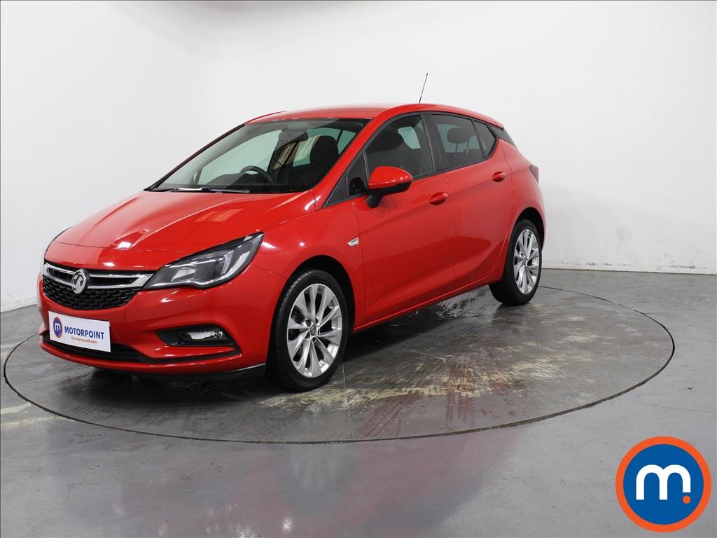 Vauxhall Astra Design - Stock Number 1138373 Passenger side front corner