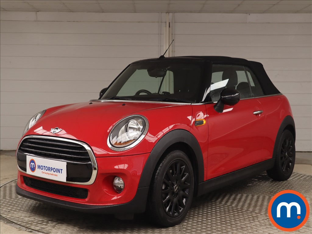 Mini Convertible 1.5 Cooper D 2dr [Pepper Pack] - Stock Number 1135955 Passenger side front corner