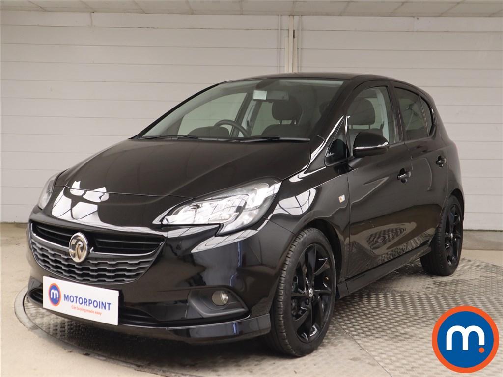 Vauxhall Corsa SRi Vx-line Nav Black - Stock Number 1138220 Passenger side front corner