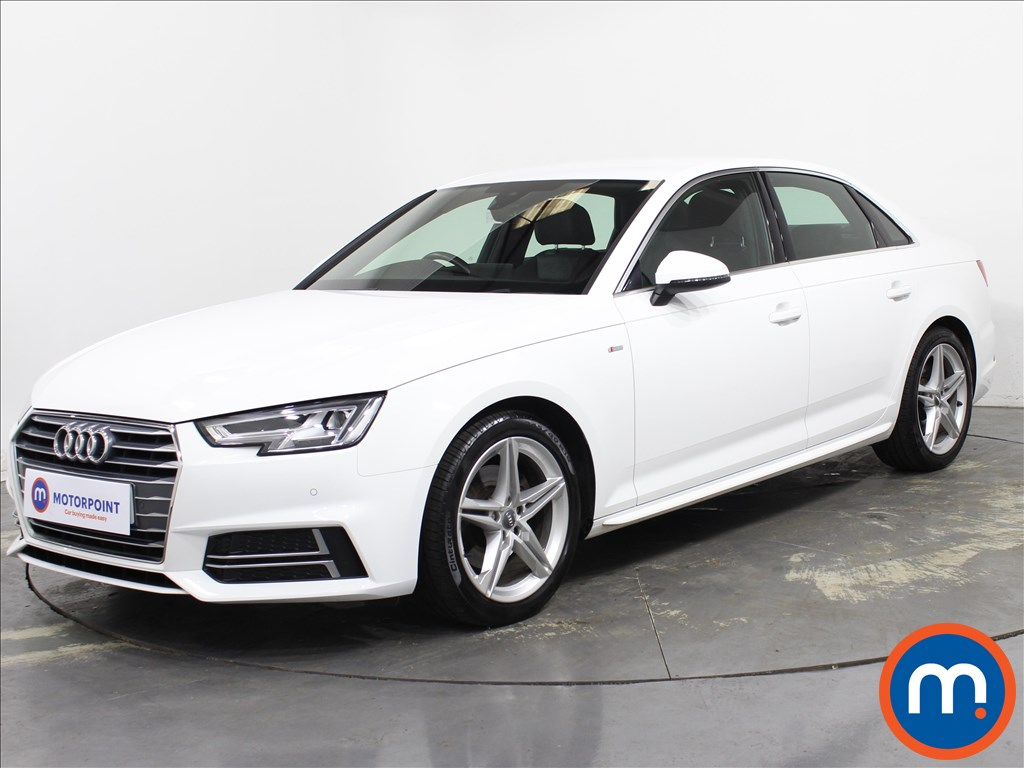 Audi A4 1.4T FSI S Line 4dr [Leather-Alc] - Stock Number 1139038 Passenger side front corner