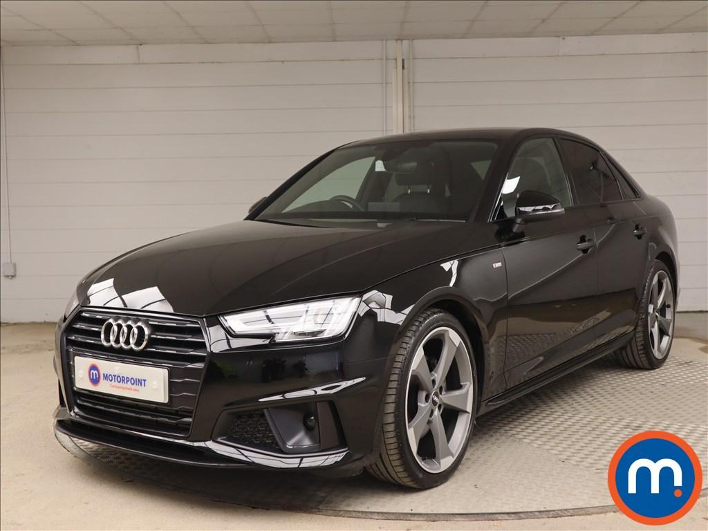 Audi A4 Black Edition - Stock Number 1140200 Passenger side front corner