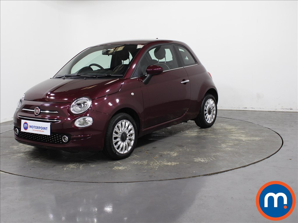 Fiat 500 Lounge - Stock Number 1134835 Passenger side front corner