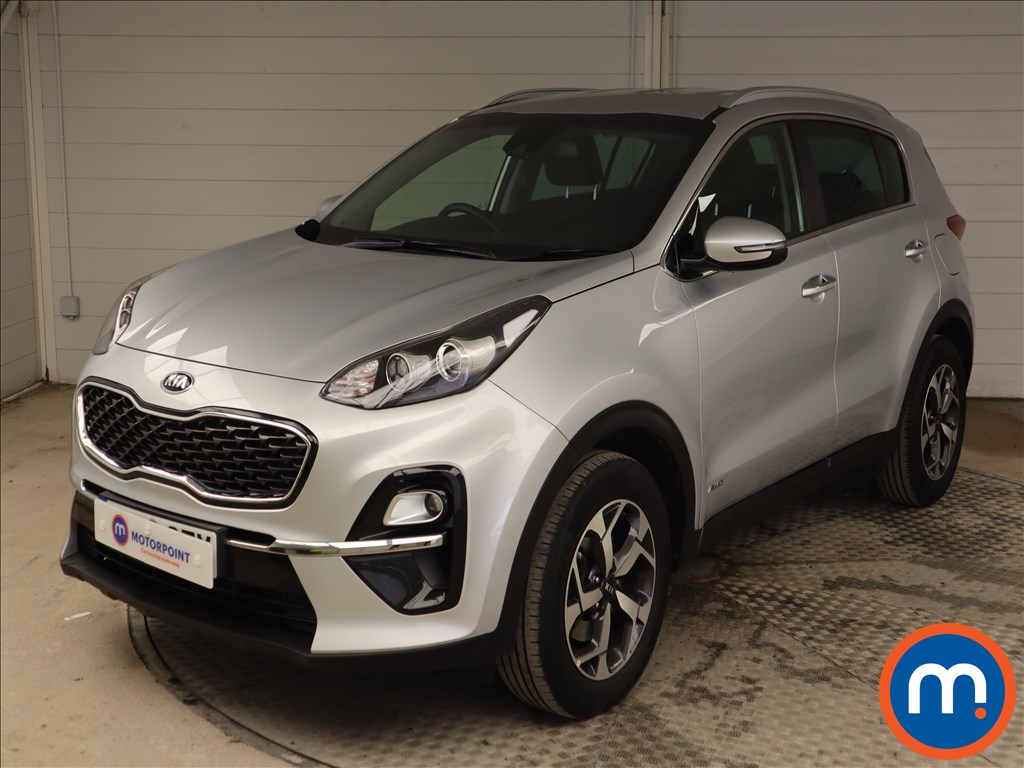 KIA Sportage 1.6T GDi ISG 2 5dr [AWD] - Stock Number 1127639 Passenger side front corner