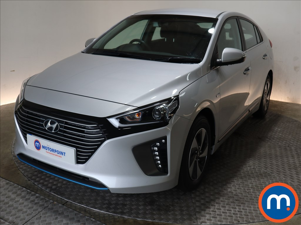 Hyundai Ioniq 1.6 GDi Hybrid Premium 5dr DCT - Stock Number 1133991 Passenger side front corner