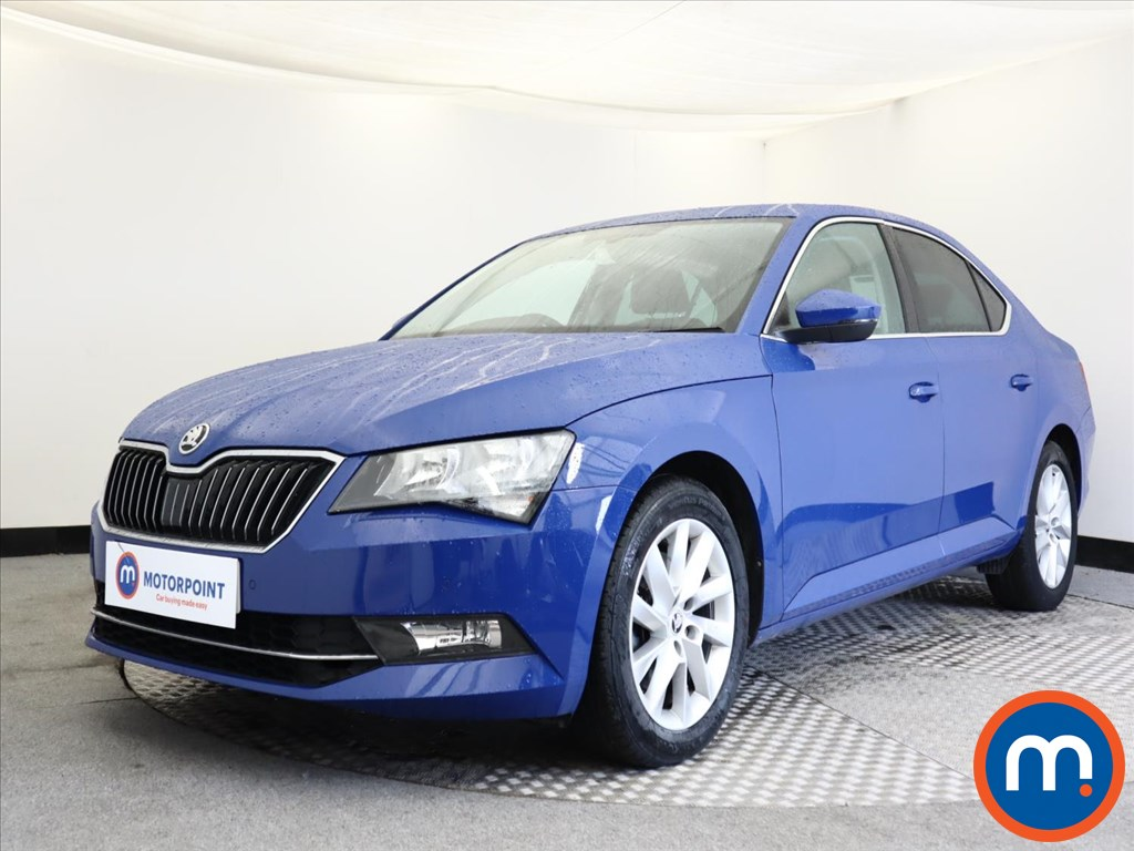Skoda Superb SE Technology - Stock Number 1141813 Passenger side front corner