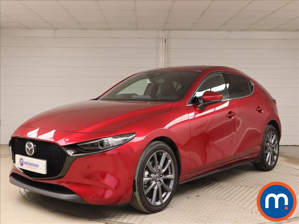 Mazda 3 GT Sport - Stock Number 1143497 Passenger side front corner