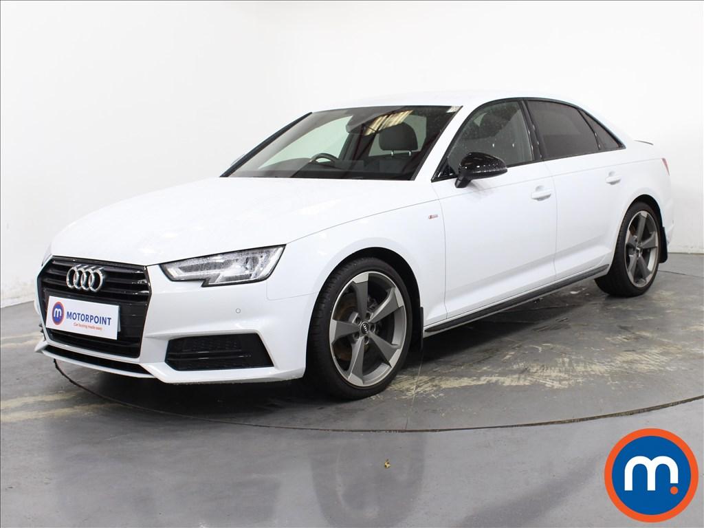 Audi A4 Black Edition - Stock Number 1134622 Passenger side front corner