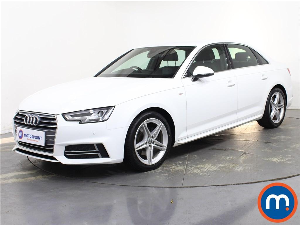 Audi A4 S Line - Stock Number 1140538 Passenger side front corner