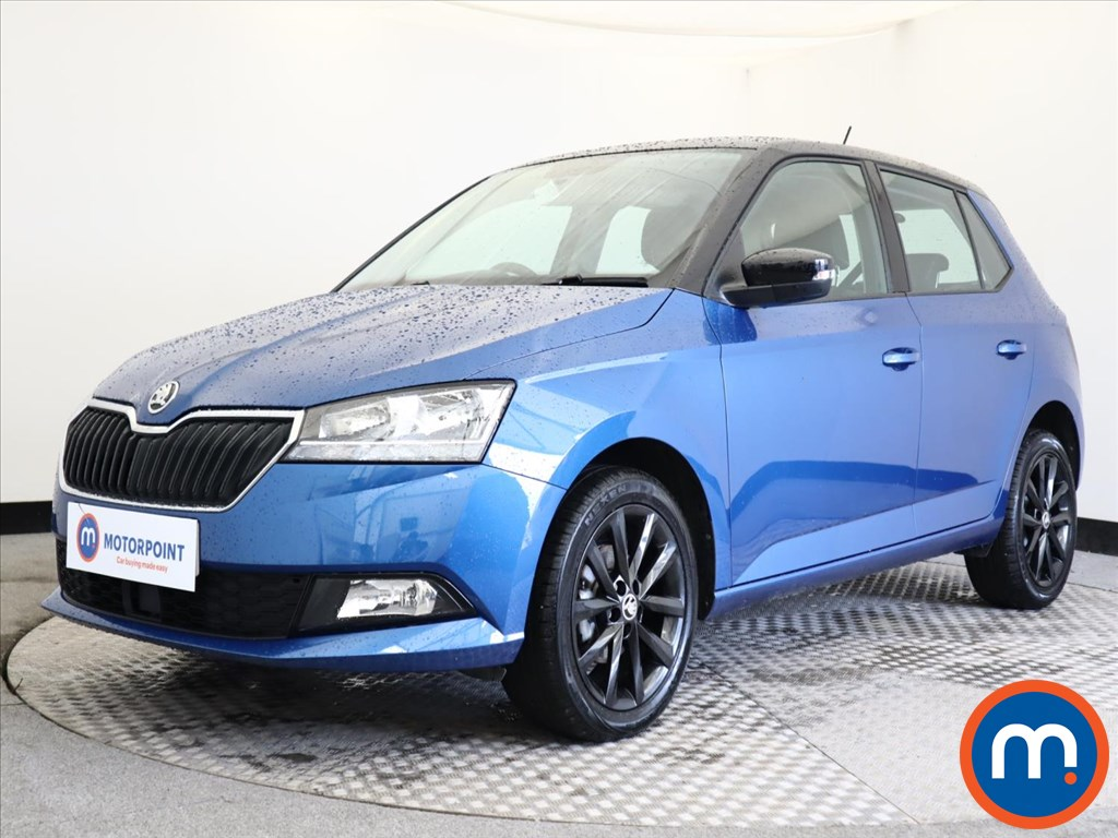 Skoda Fabia 1.0 MPI Colour Edition 5dr - Stock Number 1143195 Passenger side front corner