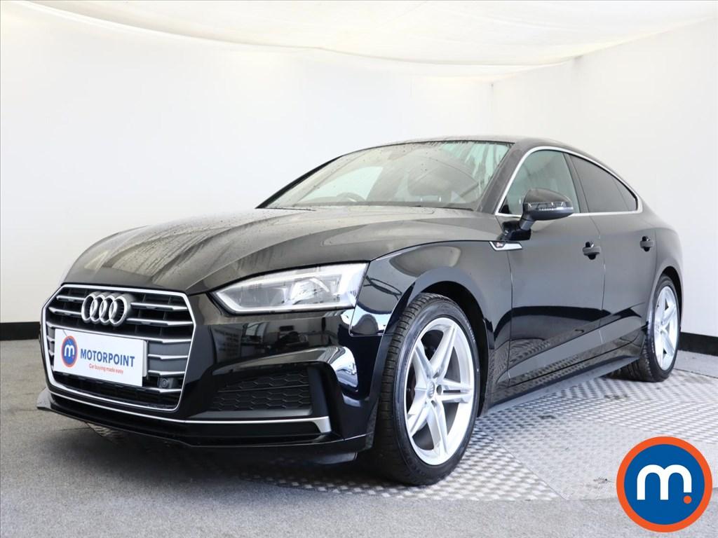 Audi A5 S Line - Stock Number 1128065 Passenger side front corner