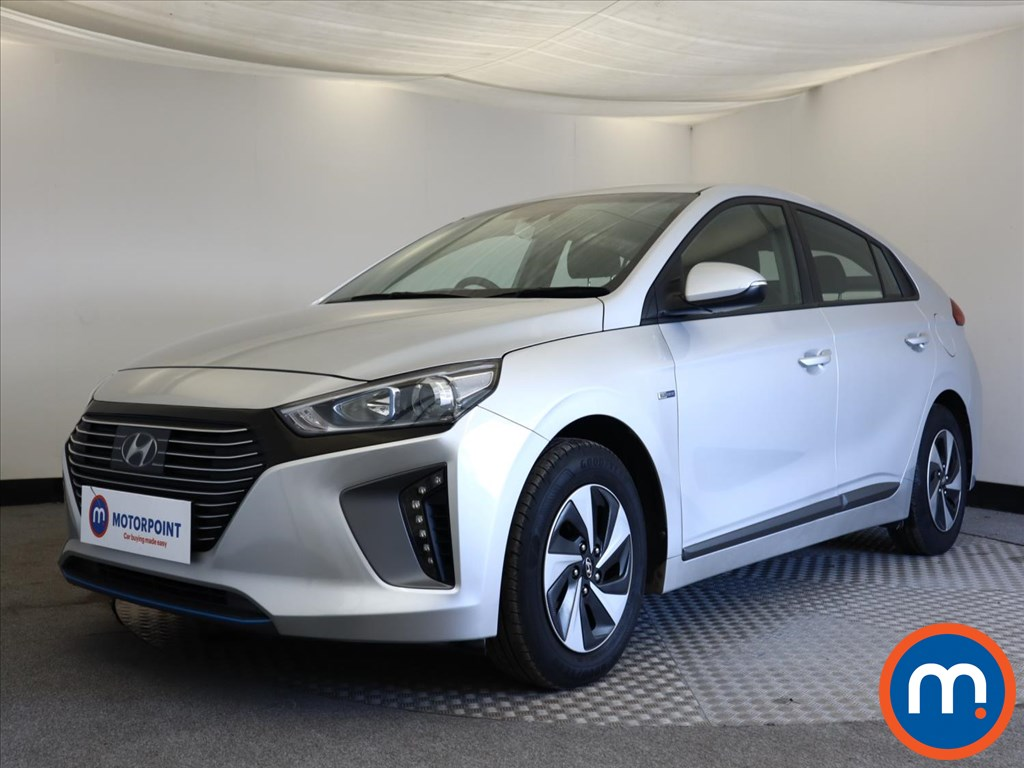 Hyundai Ioniq 1.6 GDi Hybrid SE 5dr DCT - Stock Number 1139127 Passenger side front corner