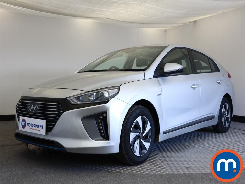 Hyundai Ioniq 1.6 GDi Hybrid SE 5dr DCT - Stock Number 1139127 Passenger side front corner