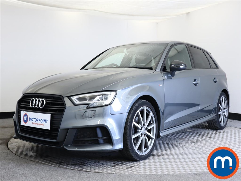 Audi A3 Black Edition - Stock Number 1140975 Passenger side front corner