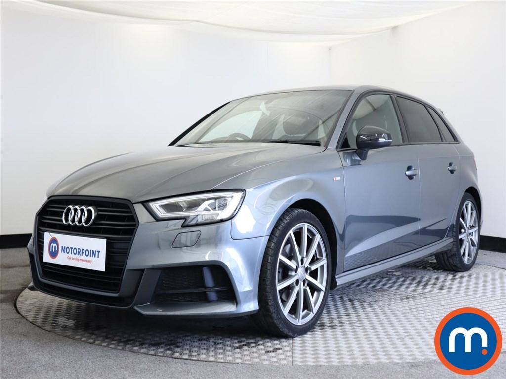 Audi A3 Black Edition - Stock Number 1140975 Passenger side front corner