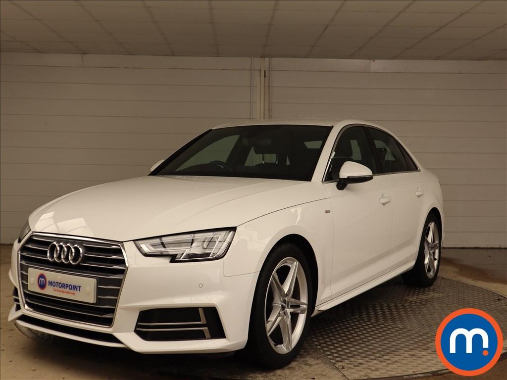 Audi A4 S Line - Stock Number 1141492 Passenger side front corner