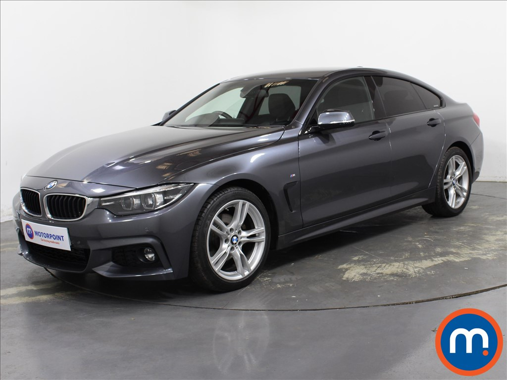 BMW 4 Series 420d [190] M Sport 5dr Auto [Professional Media] - Stock Number 1142047 Passenger side front corner