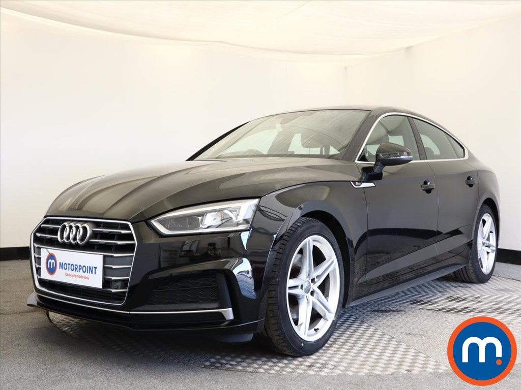 Audi A5 2.0 TFSI S Line 5dr [Tech Pack] - Stock Number 1140543 Passenger side front corner
