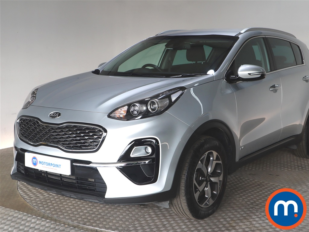 KIA Sportage 1.6T GDi ISG 2 5dr [AWD] - Stock Number 1127636 Passenger side front corner