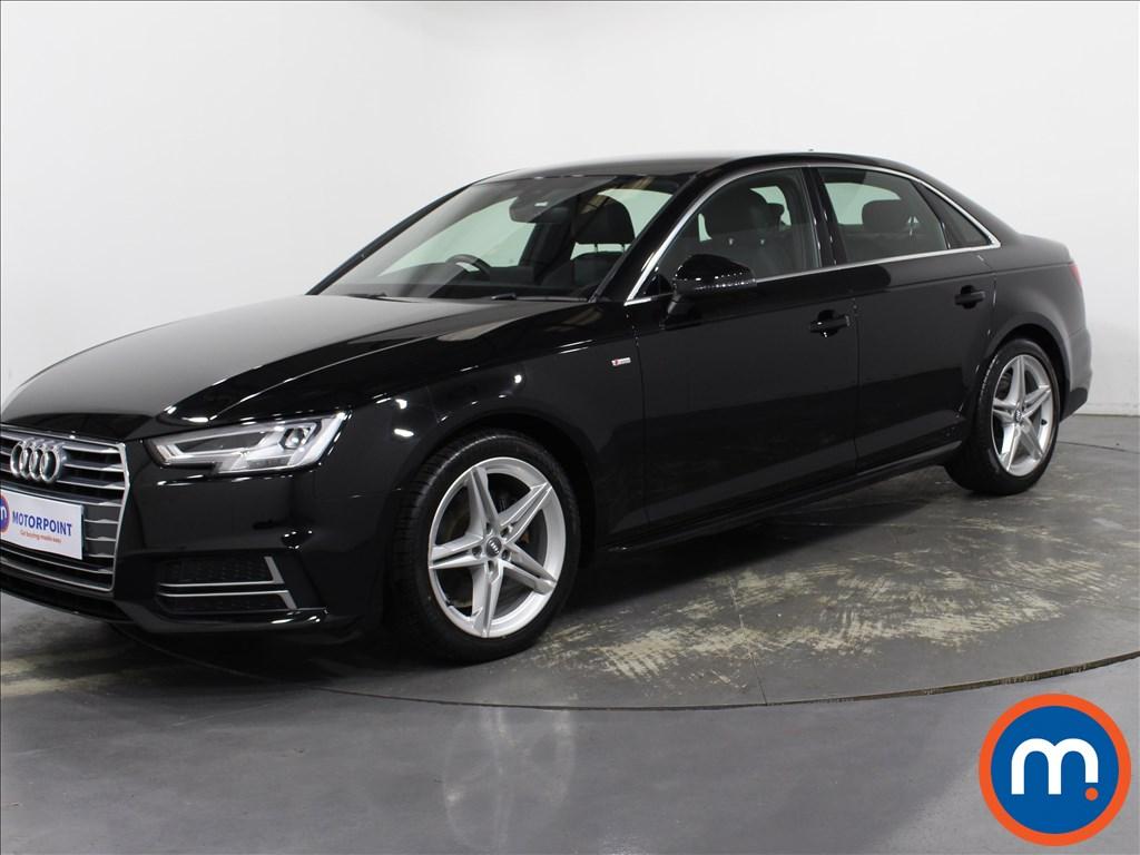 Audi A4 1.4T FSI S Line 4dr [Leather-Alc] - Stock Number 1141837 Passenger side front corner