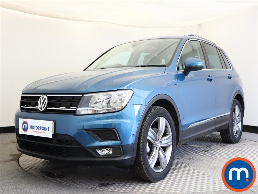 Volkswagen Tiguan Match - Stock Number 1133084 Passenger side front corner