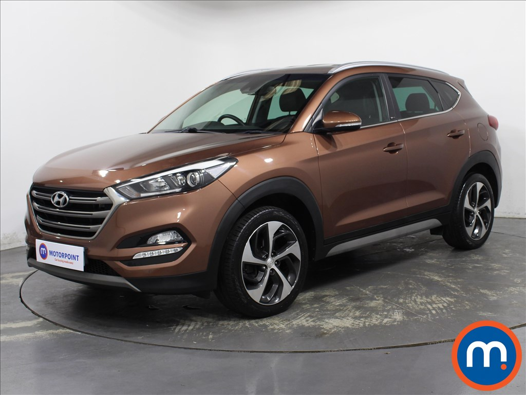 Hyundai Tucson Sport Edition - Stock Number 1142808 Passenger side front corner