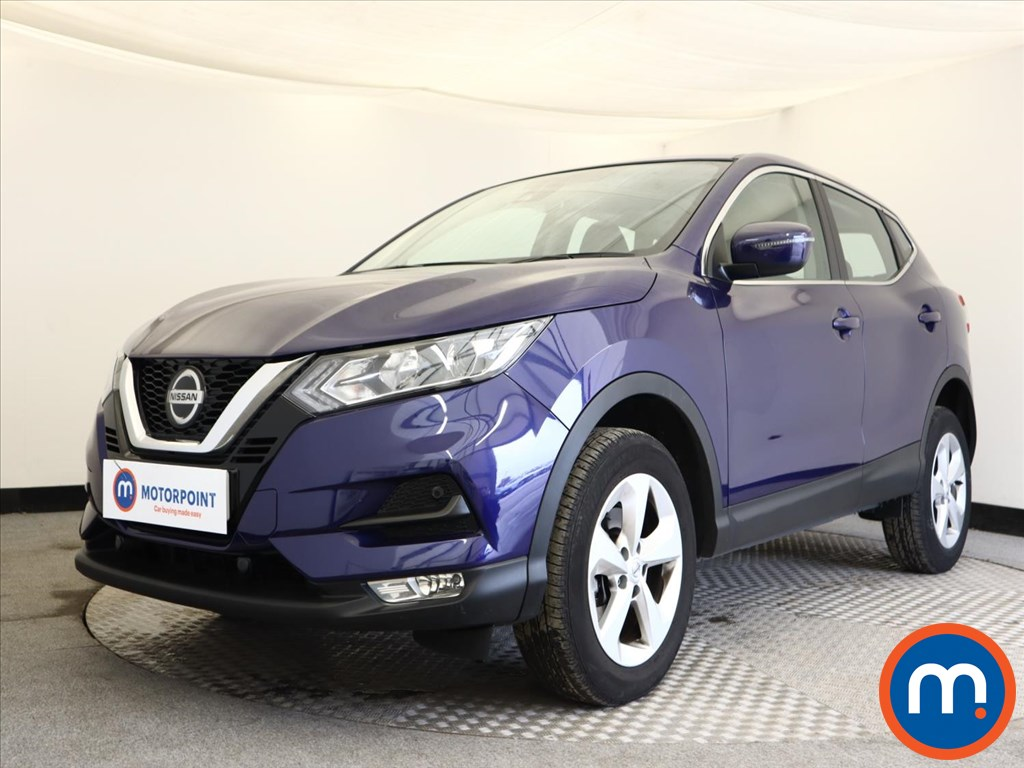 Nissan Qashqai Acenta Premium - Stock Number 1141643 Passenger side front corner