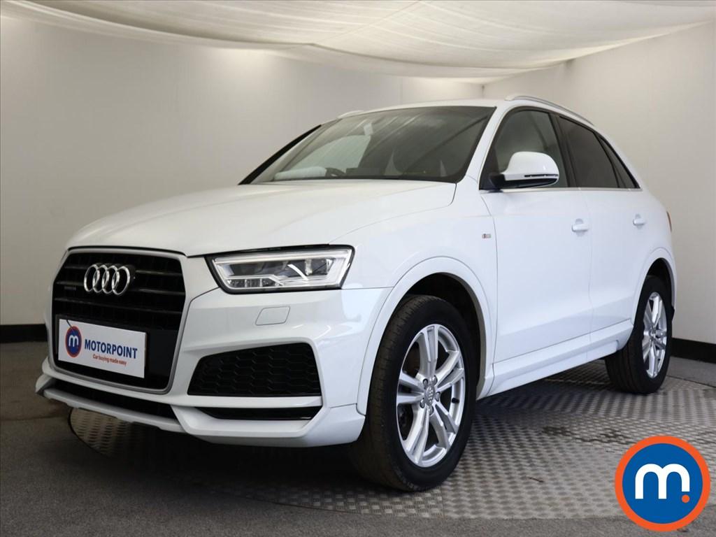 Audi Q3 S Line Edition - Stock Number 1146775 Passenger side front corner