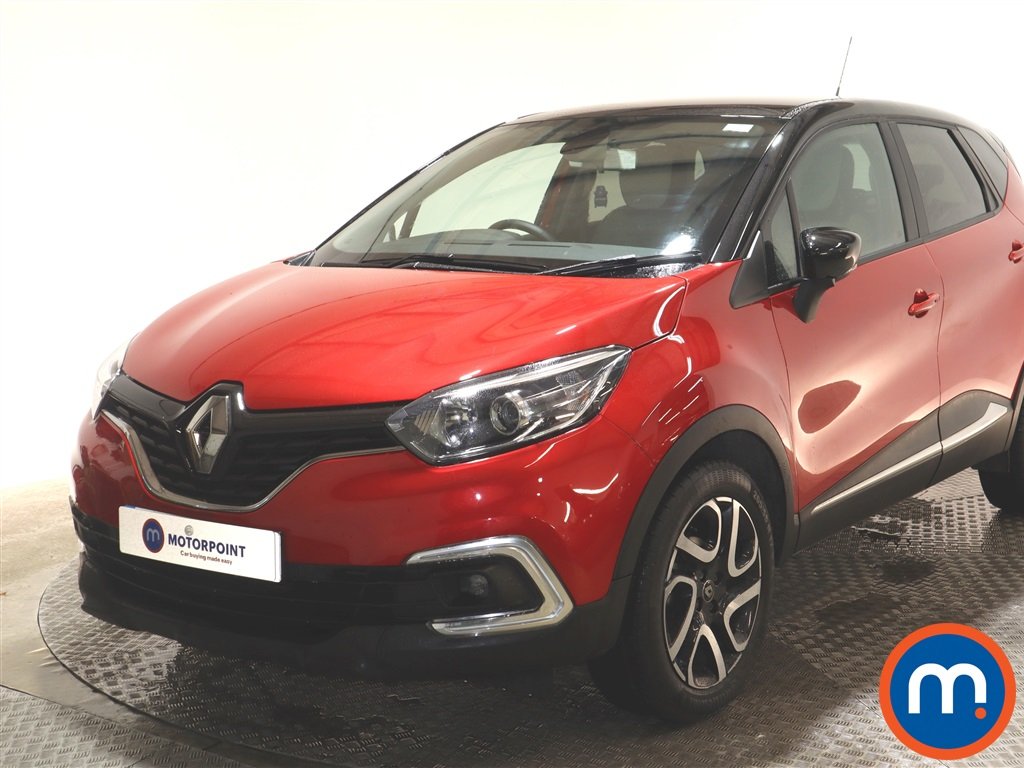 Renault Captur Iconic - Stock Number 1143316 Passenger side front corner
